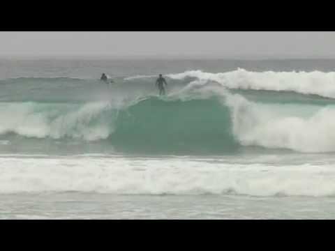 Donostia-San-Sebastian:  Zurriola surfing - Euskadi Surf TV