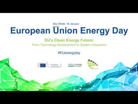 Dominique Ristori - EU Energy Day in Abu Dhabi (16/01/2018)