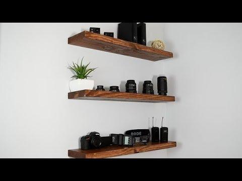 34 Floating Shelves Ideas - Wood Shelves Design