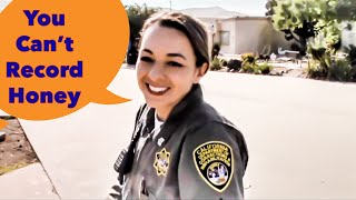 Best Lady Officer on the Internet - De-escalation 101 - SLO County Observer - 1st Amendment