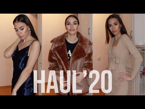 ЗИМНИЙ HAUL   ASOS   ZARA   STRADIVARIUS   H&M   SWAROVSKI / ПОКУПКИ ОДЕЖДЫ НА ЗИМУ 2020