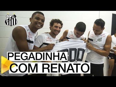 Homenagem a Renato pelos 300 jogos