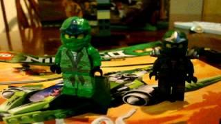 Lego Ninjago Green Ninja ZX Custom Minifigures