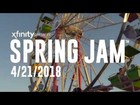 Spring Jam™ 2018 Artist Announcement