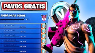 Comment GET 2000 PAVOS GRATUIT sur FORTNITE NEW VALENTINE'S EVENT ET CHALLENGES