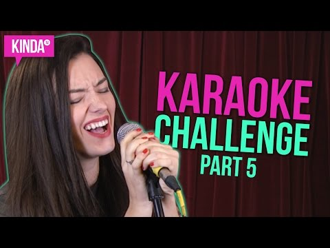 KARAOKE CHALLENGE PART 5 | KindaTV ft. Natasha Negovanlis