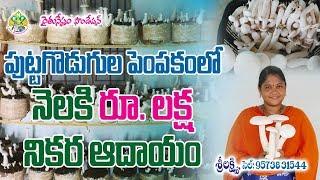 Mushroom Farming- Earning Monthly 1 Lakh Net Income | Sri Lakshmi |