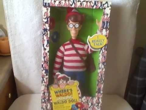 Where's Waldo Talking Waldo Doll New in Original Box Collectible Vintage #1WALDO