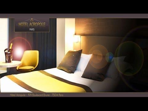 Acropole hôtel Paris shooting photos/Montage par la société ORKINEO