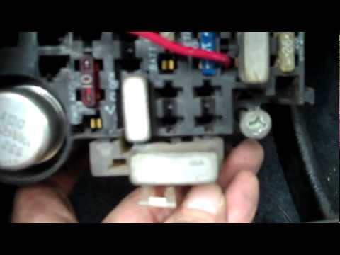 How To Remove Fuse Box From 1985 Jeep Cherokee - YouTube Jeep Yj Fuse Box Removal on