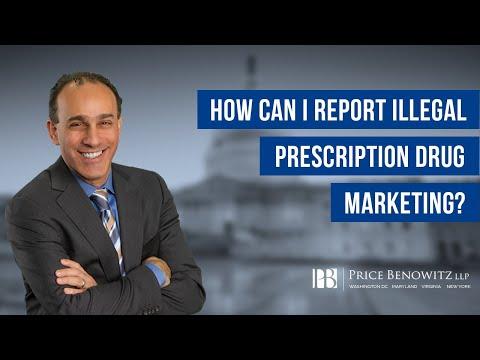 Illegal Marketing of Prescription Drugs | DC Medicare Whistleblower Lawyer | Tony Munter