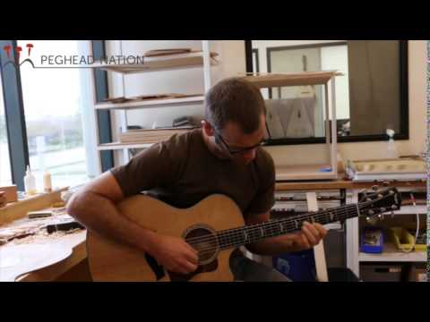 Andy Powers Discusses Taylor's New 600 Series for Peghead Nation