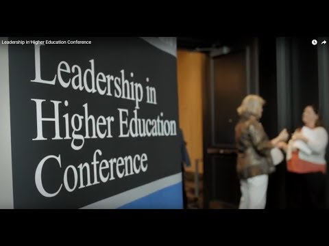 Leadership in Higher Education Conference   Magna Publications