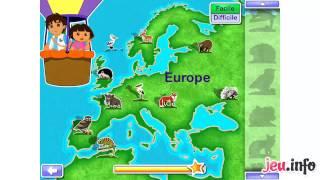 Jeu Dora l'Exploratrice : Le Safari de Dora et Diego HD iPad