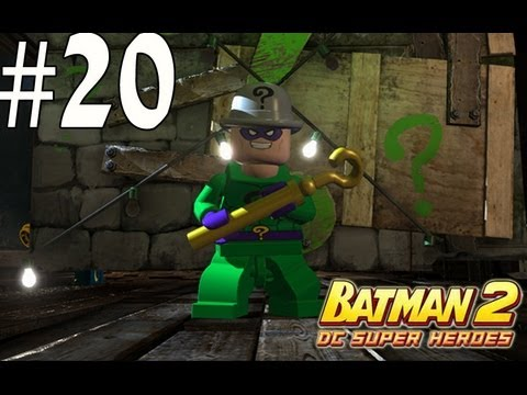 Lego Batman 2 - Unlocking Jim Gordon and The Riddler