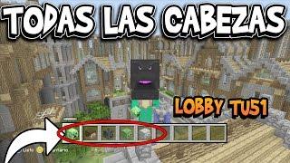 SECRETO COMO CONSEGUIR LA CABEZA ENDER DRAGON EN EL LOBBY | MINECRAFT XBOX 360/ONE/PS3/PS4/PSVita