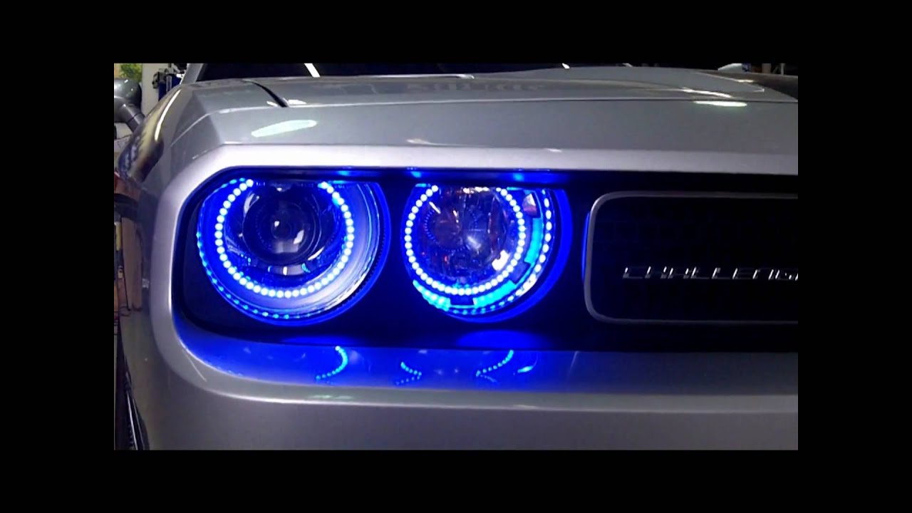 Block Ent Challenger Halo Lights By Cartunes Atlanta Youtube