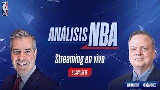Álvaro Martín y el coach Carlos Morales presentan Análisis NBA   NBA México
