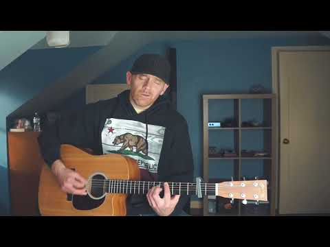 BED OF ROSES - Bon Jovi (Derek Cate Acoustic Cover)