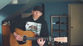BED OF ROSES - Bon Jovi (Derek Cate acoustic cover)