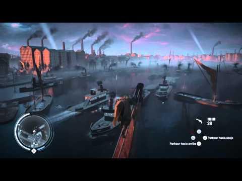 Assassin's Creed® Syndicate coger el fallo de helix de la 1º guerra mundial debajo del puente