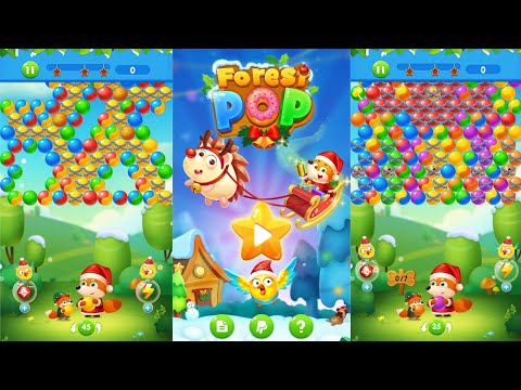 bubble-shooter-christmas-gift:-forest-pop-|-win-$10-paypal-money-|-free-rewards-gaming-|-bai-arvy