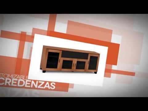 Customizable Credenzas - Salamander Designs