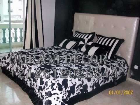 omrani decor tete de lit youtube. Black Bedroom Furniture Sets. Home Design Ideas