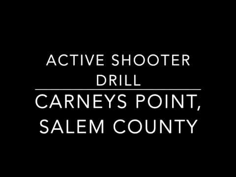 Salem County active shooter drill, March 10, 2016