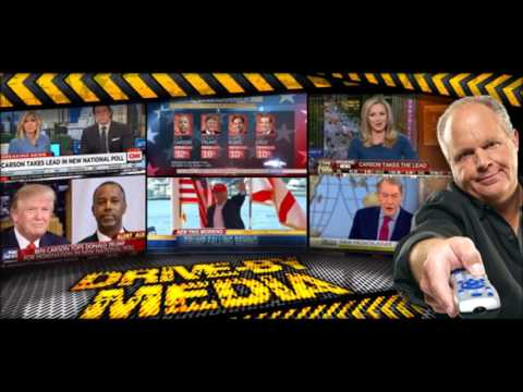 Big Media titillated that Carson ahead of Trump in a couple Iowa polls (Limbaugh)