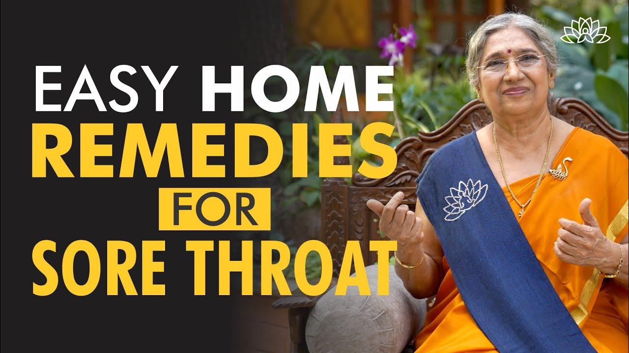 Download Yogic Home Remedies for Sore Throat | Dr. Hansaji Yogendra
