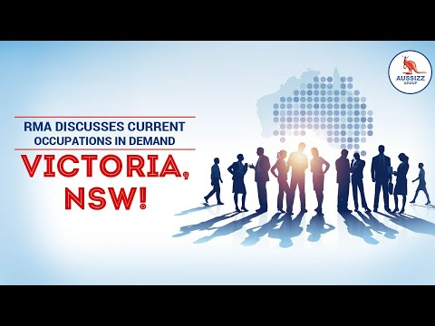 RMA Discusses Current Occupations In Demand In Victoria, NSW!