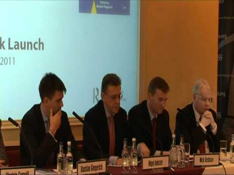 Nigel Inkster, speaks at the IISS Adelphi Book Launch: 'Europe and Global Security'