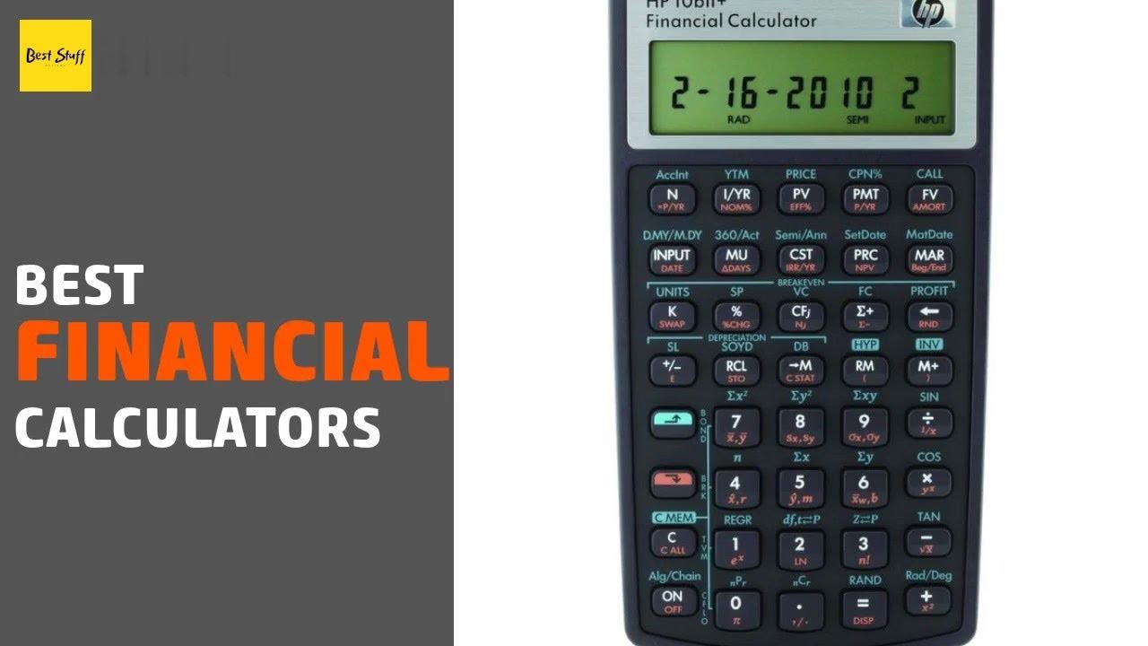 5 Best Financial Calculators 2020 Youtube