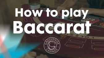 How to play Baccarat (Punto Banco) – Grosvenor Casinos