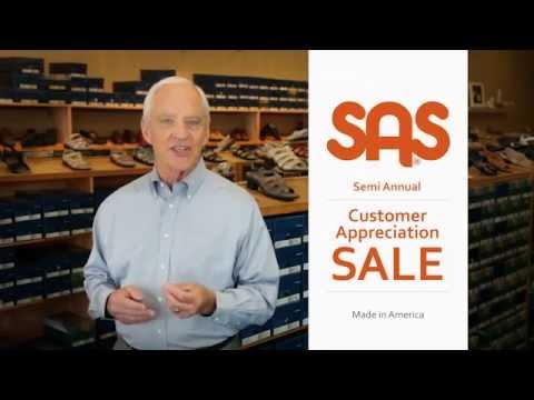 SAS Shoes Semi-Annual Sale - YouTube