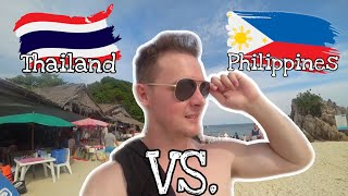 Philippines is better than Thailand for a holiday