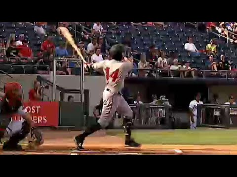 Indianapolis' Wood homers to start the scoring