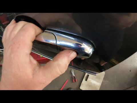 2008 Buick Lucerne Outside Door Handle Replacement