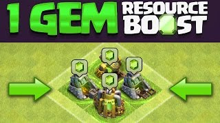 Clash of Clans - 1 GEM BOOST DATE LEAK & FIRST LEVEL 10 CLAN (WORLD RECORD)