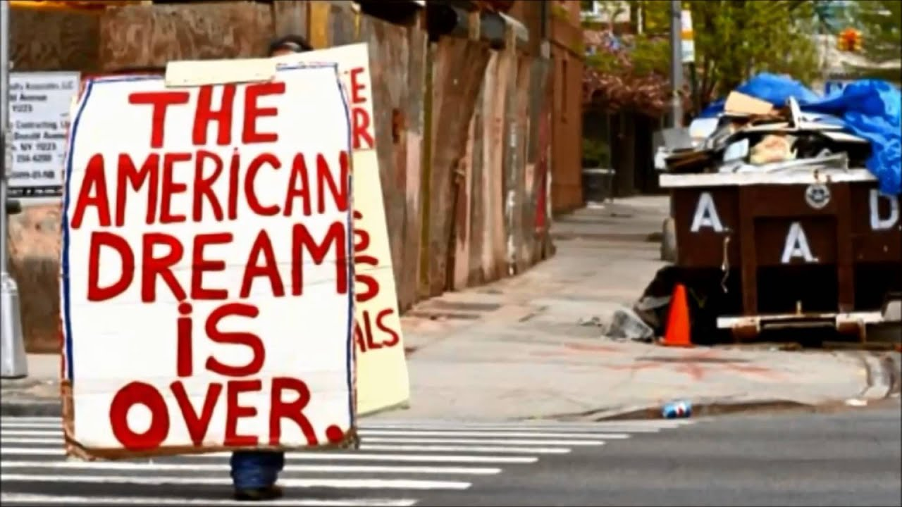degradation of the american dream How cars drove the american dream to nowhere, usa by the crimson white the degradation and demoralization of civic life in our towns and cities.