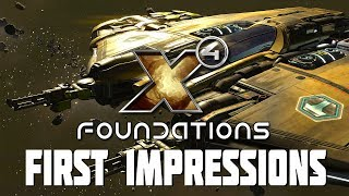 X4 Foundations - First Impressions of a Vast New Space Game