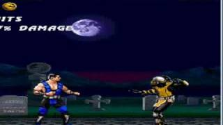 Видео обзор java игры Mortal Kombat 3 Ultimate