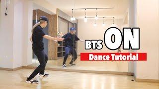 [TUTORIAL] BTS(방탄소년단) - 'ON' Dance Tutorial [Yu Kagawa]