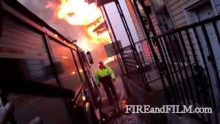 Firefighter Helmet Cam Video: 2nd Alarm - Shenandoah, PA