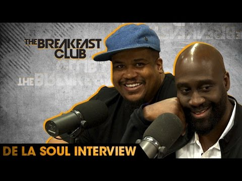 De La Soul Interview With The Breakfast Club (8-25-16)