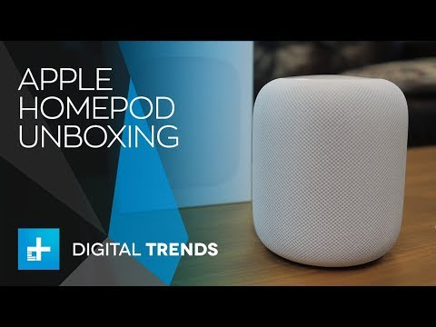 Apple HomePod – Unboxing