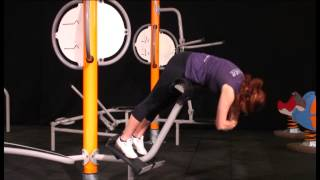 Instruction video of the user friendly outdoor gym Serra from Hags ...