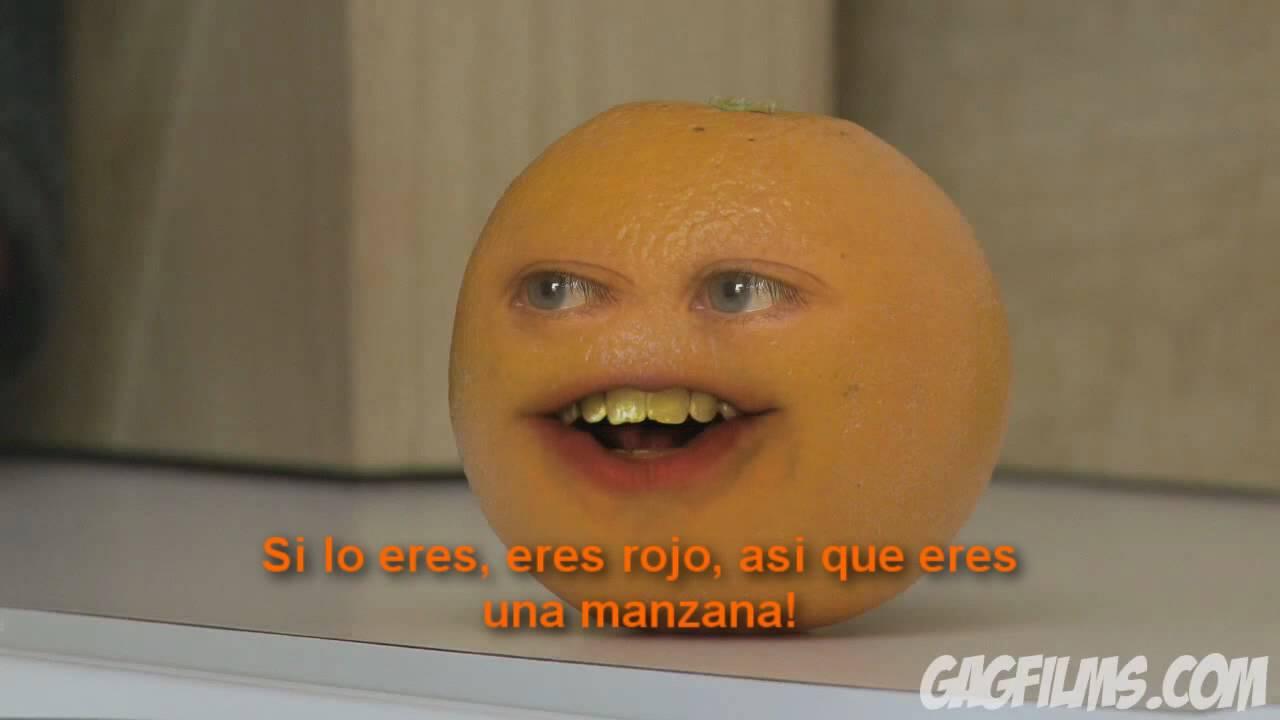 La Molesta Naranja 3 (The annoying orange Spanish subs) - YouTube