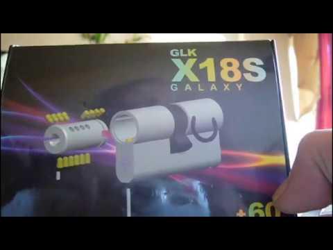 Взлом отмычками --   GLK X18S Profilzylinder ()